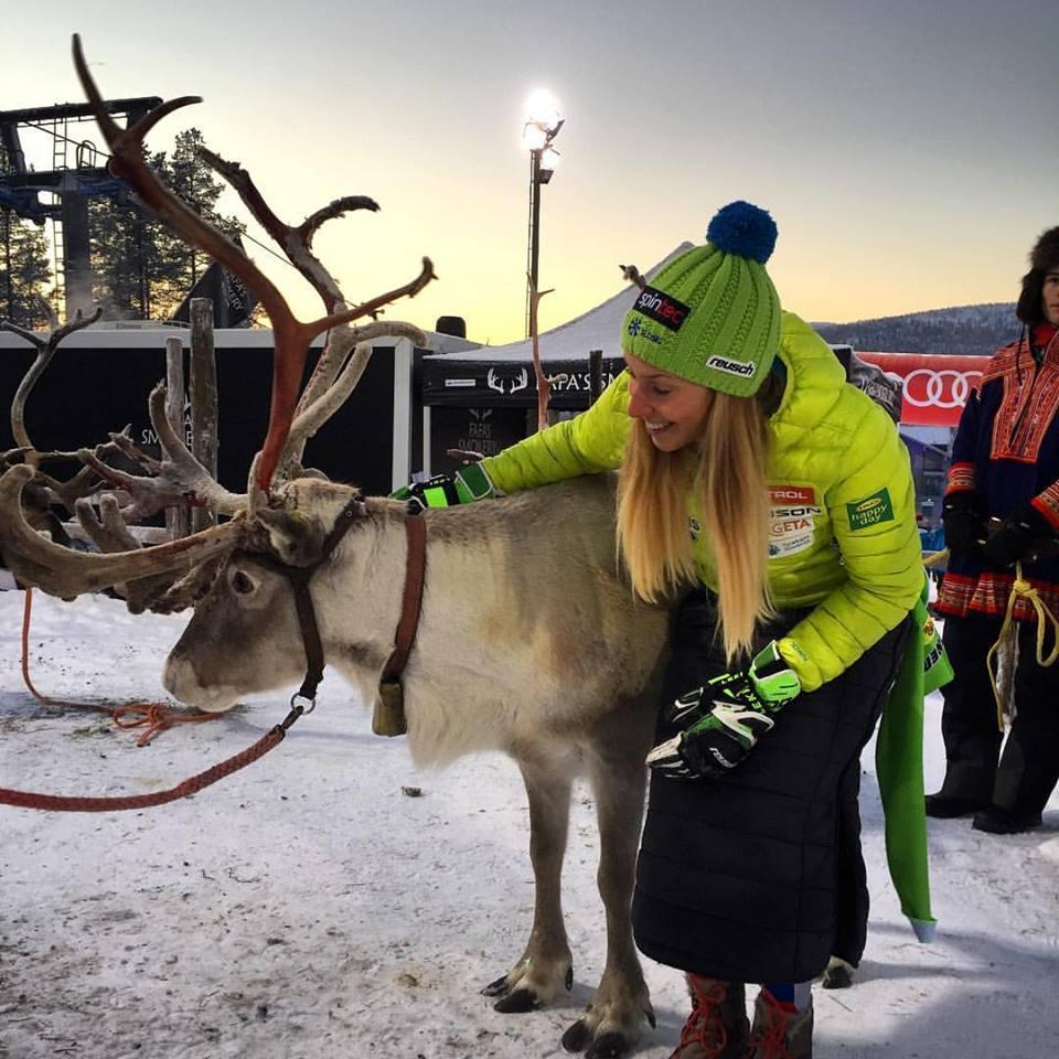 Naša Ana Bucik Je Na Uvodni Slalomski Preizkušnji V Finskem Leviju Prismučala   Do Prvih Letošnjih Točk
